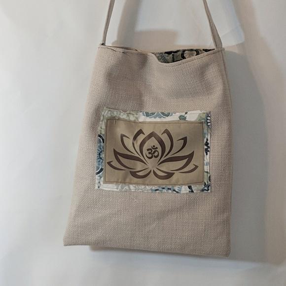 Milk Drunk Clothing Handbags - Lotus Flower Reusable Market Bag Shopping Tote NWT